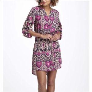 Anthro MAEVE Ikat t-shirt Printed Dress